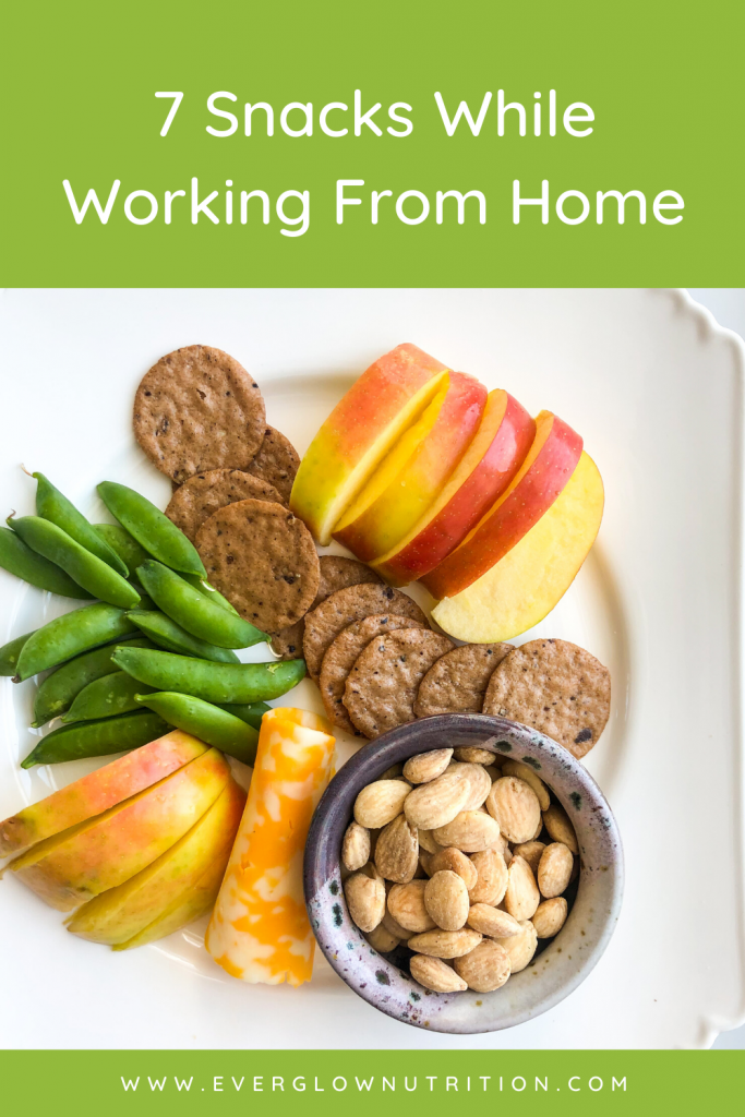 7 snacks while working from home