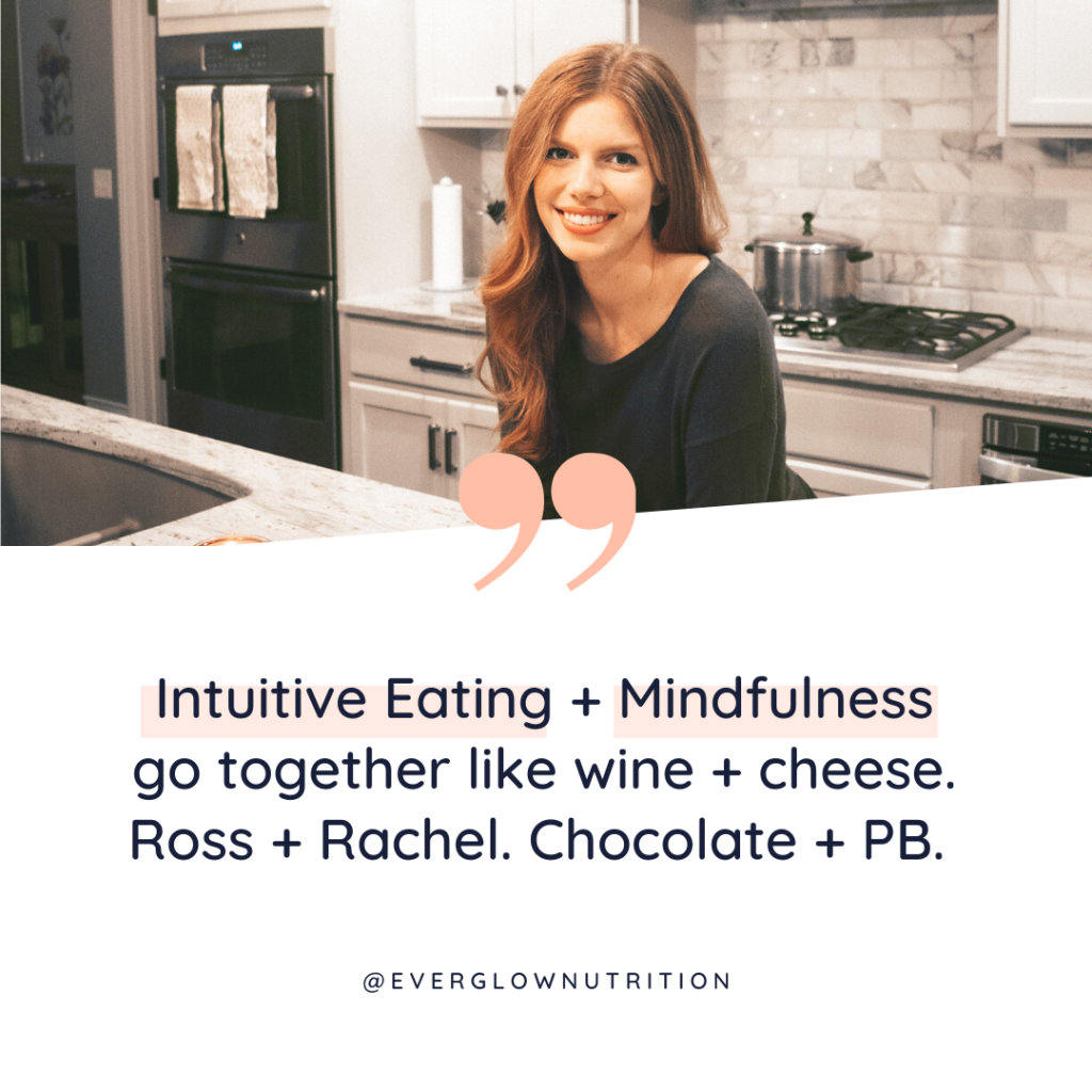 mindfulness and intuitive eating