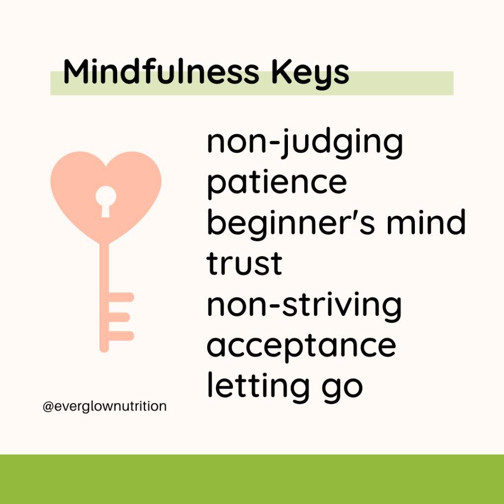 mindfulness keys