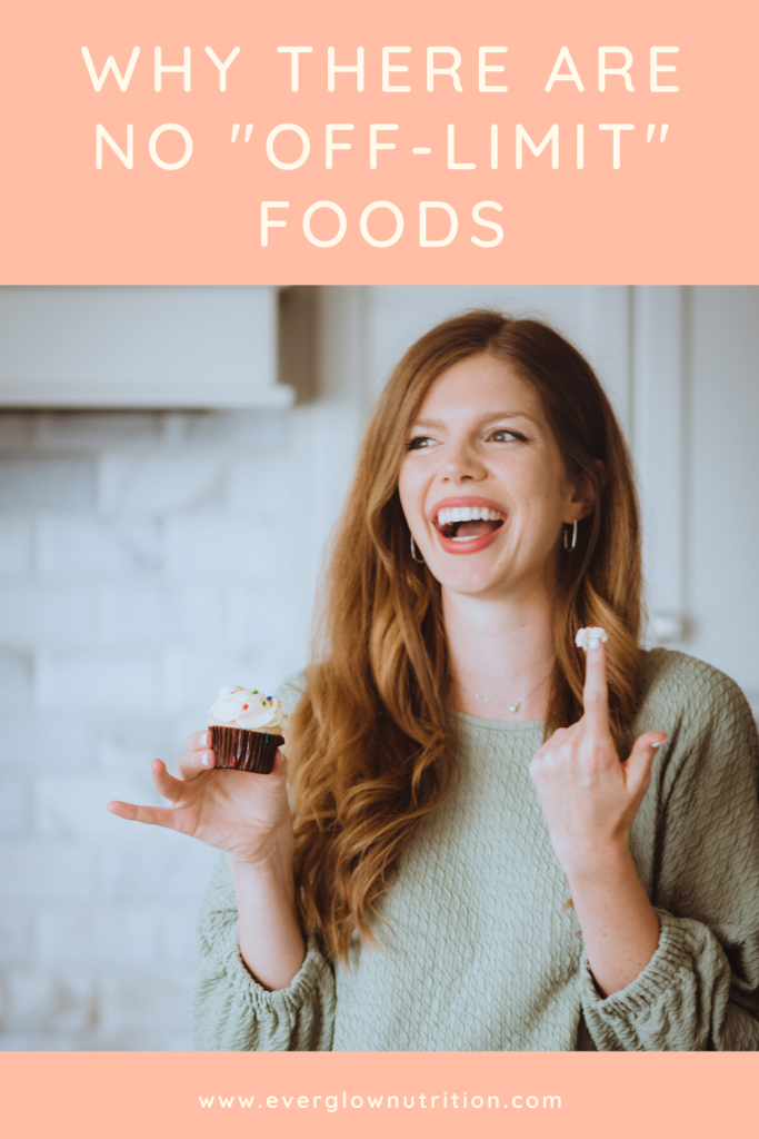why there are no off limit foods
