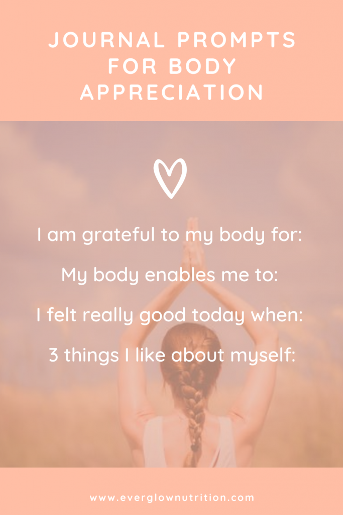 journal prompts for body appreciation