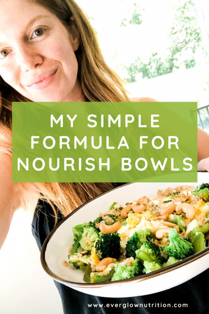 My Simple Formula for Nourish Bowls