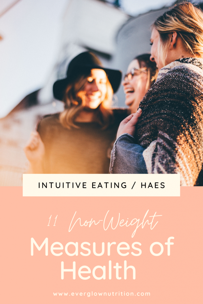 non-weight measures of health