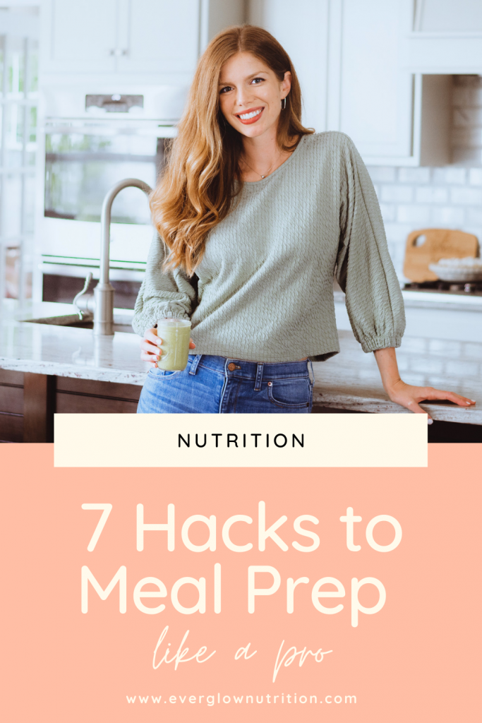 meal prep hacks