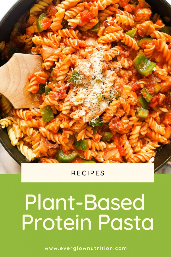 Plant-Based Protein Pasta