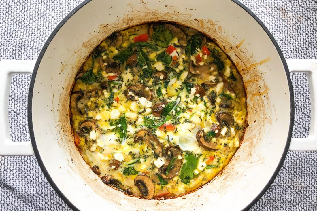 Cheese and Vegetable Frittata