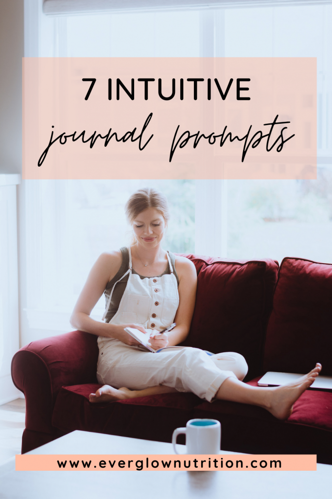 intuitive journal prompts