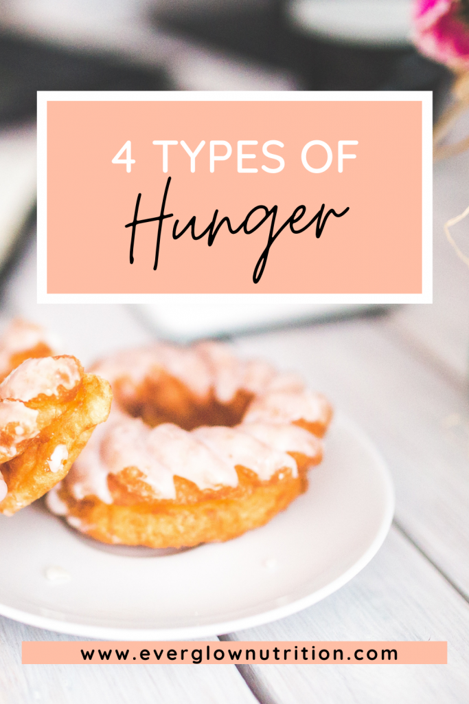 4 types of hunger