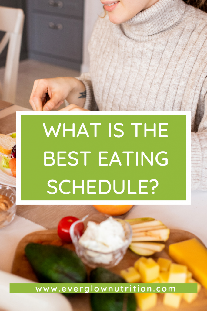 The Best Eating Schedule