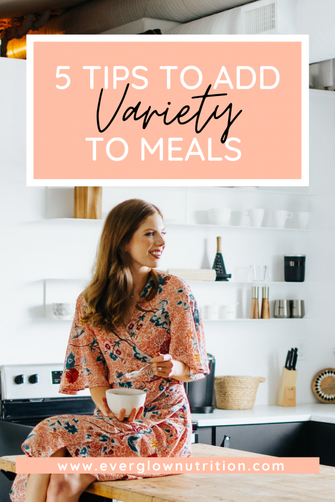 add variety to meals