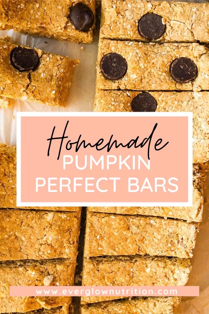Pumpkin Perfect Bars